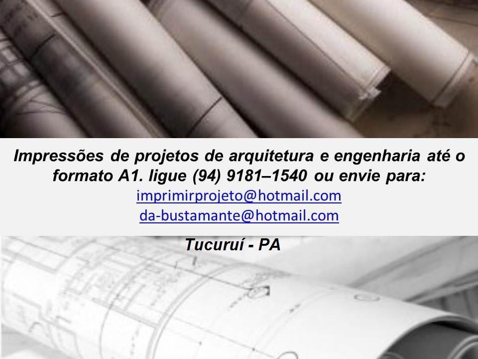 Plotagem de Projetos em Tucuruí